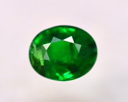 Tsavorite 0.94Ct Natural Intense Vivid Green Color Tsavorite Garnet EN40