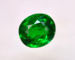 Tsavorite 0.90Ct Natural Intense Vivid Green Color Tsavorite Garnet EN41