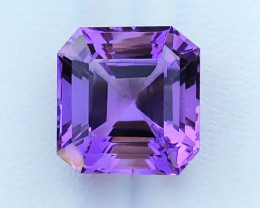 7.20 Ct Natural Purple Flawless Transparent Amethyst Gemstone