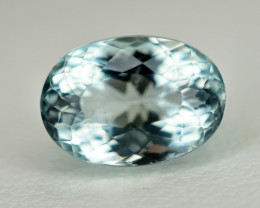 4.25 Ct Natural Aquamarine Gemstone