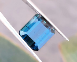 5.05 Ct Natural Dark Blue Transparent Tourmaline Gemstone