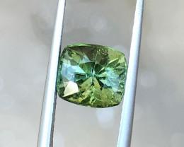 2.45 Ct Natural Greenish Transparent Tourmaline Gemstones