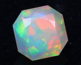 4.36Ct Master Cutting Natural Ethiopian Faceted Welo Opal AN99