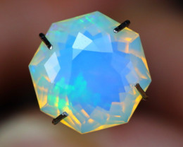 2.23Ct Master Cutting Natural Ethiopian Faceted Welo Opal AN116