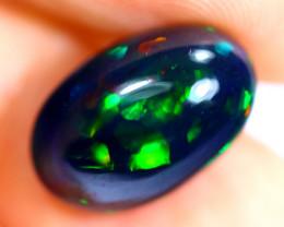 4.25cts Natural Ethiopian Smoked Black Opal / RD712