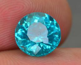 Rare 2.32 ct Amazing Luster Blue Apatite SKU.10