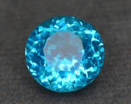 Rare 2.15 ct Amazing Luster Blue Apatite SKU.10