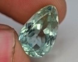 6.50 Ct Green Spodumene Gemstone From Afghanistan~ G AQ