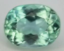 3.50 Ct Green Spodumene Gemstone From Afghanistan~ G AQ