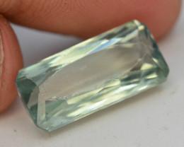 12.10 Ct Green Spodumene Gemstone From Afghanistan~ G AQ