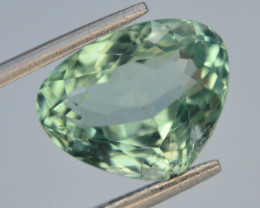 5.90 Ct Green Spodumene Gemstone From Afghanistan~ G AQ