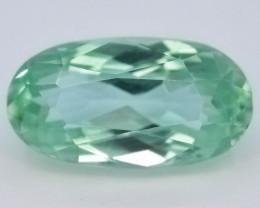 4.35 Ct Green Spodumene Gemstone From Afghanistan~ G AQ