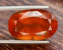 Top Color9.30 ct Natural Hessonite Garnet ~ T