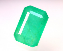 Emerald 4.27Ct Natural Colombia Green Emerald DR95