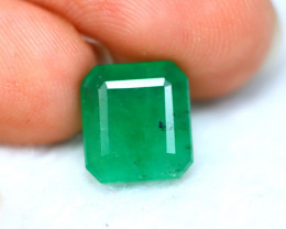 Emerald 3.45Ct Natural Colombia Green Emerald DN42