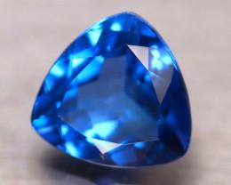 Fluorite 10.29Ct Natural IF Vivid Bule Color Change Fluorite DN44/A49