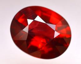 Rhodolite 3.79Ct Natural Cherry Red Rhodolite Garnet DN45