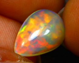 Welo Opal 1.67Ct Natural Ethiopian Play of Color Opal D1637