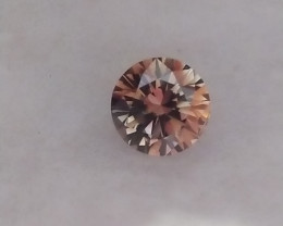 NATURAL -GIA CERTIFIED, FANCY DARK ORANGE-BROWN DIAMOND,0.63CARAT