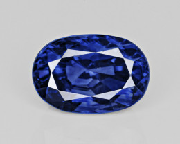 Blue Sapphire, 3.17ct - Mined in Kashmir | Certified by GIA & GRS