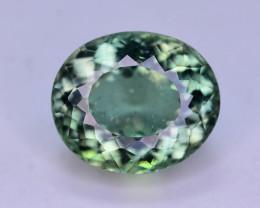 Amazing Quality 3.15 Ct Natural Green Apatite. ARA