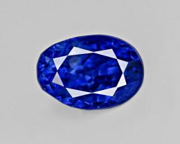Blue Sapphire, 2.54ct - Mined in Kashmir | Certified by GRS