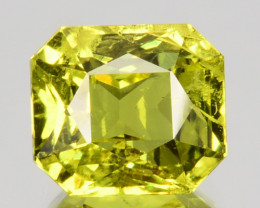 2.14 Cts Stunning Natural Chrysoberyl Green Octagon Cut Sri Lanka