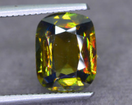 Rare AAA Fire 3.98 ct Sphene  from Tanzania Sku-53