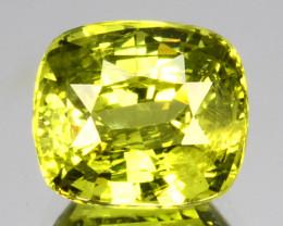 ~BEAUTIFUL~ 2.11 Cts Natural Chrysoberyl Radium Green Cushion Cut Sri Lanka