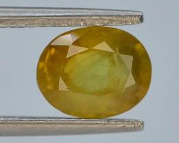 Top Clarity & Color 1.80 ct Rarest Yellow Sapphire~Sri Lanka