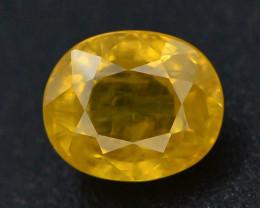 Top Clarity & Color 1.25 ct Rarest Yellow Sapphire~Sri Lanka