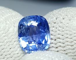 NO HEAT 1.91 CTS CERTIFIED NATURAL STUNNING CORNFLOWER BLUE SAPPHIRE CEYLON