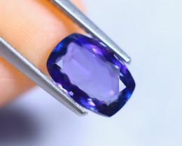2.13cts Violet Blue D Block Tanzanite / RD822