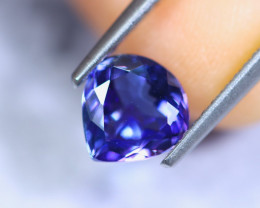 1.33cts Violet Blue D Block Tanzanite / RD826