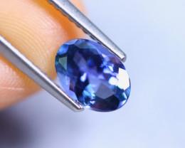 1.27cts Violet Blue D Block Tanzanite / RD833