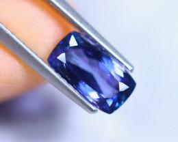 2.00cts Violet Blue D Block Tanzanite / RD846