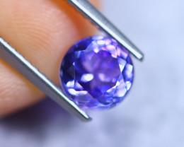 1.50cts Violet Blue D Block Tanzanite / RD853