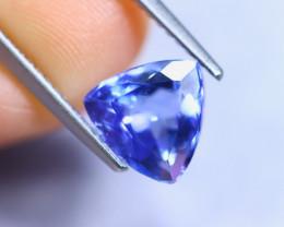 2.42cts Violet Blue D Block Tanzanite / RD858