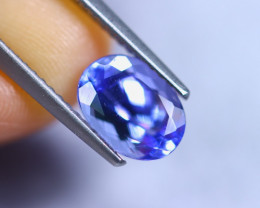 2.03cts Violet Blue D Block Tanzanite / RD859