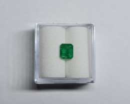 0.82 Carat Intense  Green AFGHAN (Panjshir) Emerald!