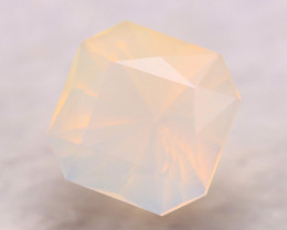 Fire Opal 2.77Ct Natural Faceted Mexican Yellow Fire Opal E1736