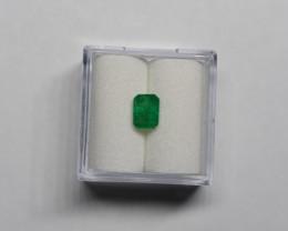 0.77 Carats Bright Green AFGHAN (Panjshir) Emerald!