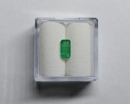 0.56 Carats Bright Green AFGHAN (Panjshir) Emerald!