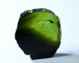12.35 Cts Beautiful, Superb  Green Tourmaline Slice