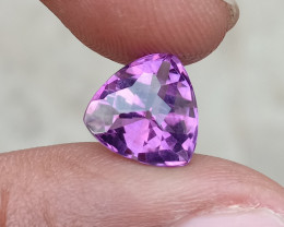 CHECKERED CUT AMETHYST TOP QUALITY 100% NATURAL GEMSTONE VA658