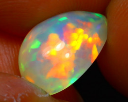 Welo Opal 2.45Ct Natural Ethiopian Play of Color Opal D1834