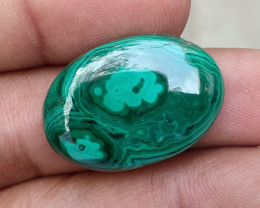 MALACHITE CABOCHON Natural+Untreated VA675