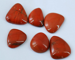Genuine  110.00 Cts  Red Mookaite Cab Lot V119