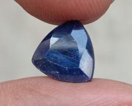 SAPPHIRE BLUE FACETED GEMSTONE GENUINE VA681