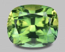 Exquisite natural Madagascan parti-colour sapphire.